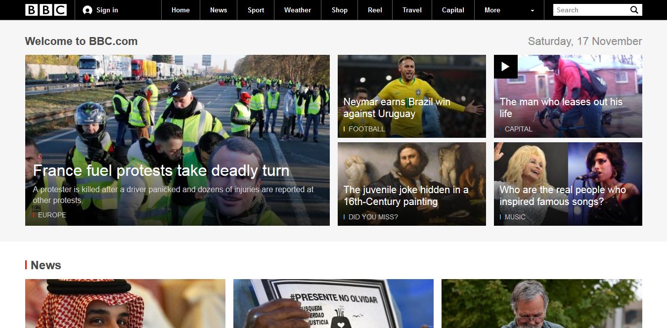 Screenshot 2018 11 17 BBC Homepage - Die 5 wichtigsten Ressourcen für Ökonomen im Internet
