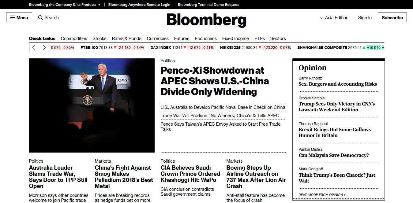 Screenshot 2018 11 17 Bloomberg com - Die 5 wichtigsten Ressourcen für Ökonomen im Internet