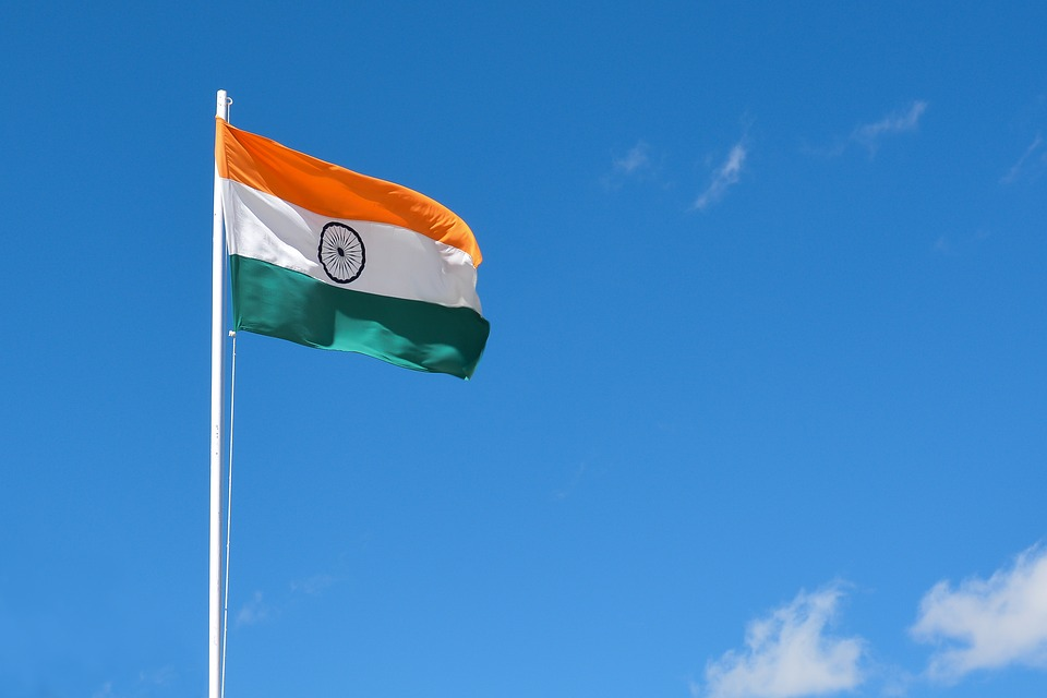 indian flag 3607410 960 720 - Die 8 stärksten Volkswirtschaften der Welt